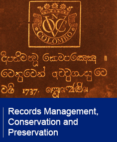 Records Management, Conservation & Preservation